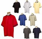 MEN'S GOLF CUT, EASY CARE, PIQUE POLO SHIRT, POCKET, RELAXED FIT, TALL LT-6XLT