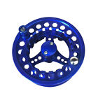 Fly Reel 5/6WT Aluminum Left Right-hand Fishing Double Fly Rod Accessory 4 Color
