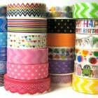 Washi tapes, 30 designs, Christmas gift decorating, party decorations supplies