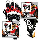 NEW Honda Motorbike Gloves Leather Repsol Motorcycle Gloves Racing Suits Bike