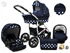 Baby Pram 3in1 Pushchair Stroller Car Seat Carrycot Combi Travel System Buggy  <br/> FREE DELIVERY &amp; RETURNS, FREEBIES