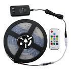 Corded 5M 16.4FT RGB Waterproof LED Strip Lights Dimmable 300 Mode Club Lights