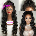 Human Hair Beyonce Lace Front Wig With Baby Hair Glueless Wavy Full Lace Wig