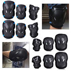 6 PCS Elbow Knee Wrist Pad Protective Guard Gear Sports Skating Roller Blading