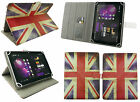 Universal Wallet Case Cover Stand fits Thomson TH-INT7W Prestige Tablet PC 7