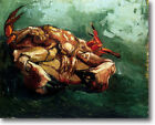 HUGE Van Gogh Crab on its Back Stretched Canvas Giclee Repro ALL SIZES