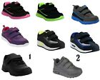 BOYS GIRLS YOUTH CHILDRENS SUPERLIGHT CASUAL TOUCH STRAP SPORTS TRAINERS SHOES