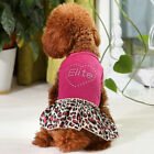 Various Pet Cat Dog Tutu Dress Lace Skirt Puppy Princess Costume Apparel Clothes