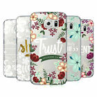 HEAD CASE DESIGNS FLORAL VERSES 2 HARD BACK CASE FOR SAMSUNG PHONES 1