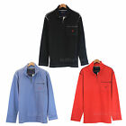 NEW Men Nautica Long Sleeve Men 1/4 Zip Pullover Shirt 100% Cotton L-XXL 3 Color