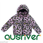 New Girls Teens Spotted Winter Warm Duck Down Padded Quilted Coat Jacket Tops