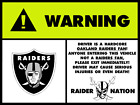 OAKLAND RAIDERS AIRBAG STICKERS NATION DECAL VINYL WINDOW CAR TRUCK NFL PATCHES for sale
