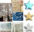 4m Star Paper Garland Bunting Party Wedding Baby Shower Christmas Decorations