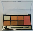 6 Colours Eyeshadow  and A Blush Palettewith a Brush Makeup Kit Set Make Up