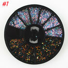 2017 Mixed Color 3D Nail Art Decoration Rhinestones Glitters Tips Manicure Wheel