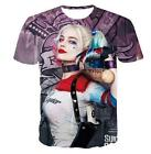 New Womens/Mens Suicide Squad Harley Quinn Funny 3D Print Casual T-Shirt YLT245