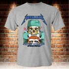 METALLICA Crash Course In Brain Surgery Grey T-shirt Men's Size S to 3XL