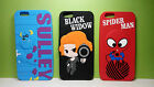 Cute Cartoon Case Cover for Apple iPhone 6/6s/Plus Sulley/Blackwidow/Spiderman