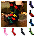 Weed Leaf High Ankle Socks Marijuana Cannabis Cotton Casual Socks Mens Women