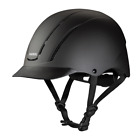 TROXEL NEW 2017 SPIRIT BLACK DURATEC SAFETY RIDING HELMET LOW PROFILE HORSE
