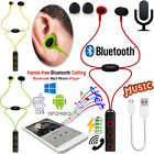 Sports Magnetic Wireless In-Ear Bluetooth 4.1 Headphones Stereo Earphones W/ Mic