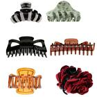 Novelty Hair Claw Clamp Clip Grip Elegant Lady Party Fashion Decorations