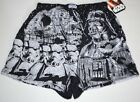 New Mens DEATH STAR WARS Vader Storm Troopers Boxer Shorts Underwear Pajamas $7.99 USD