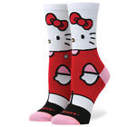 "Stance x Sanrio ""Hello Kitty"" Women's Crew Socks (White) Muse Sanrio Collection"