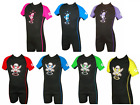 CHILDRENS SHORTY SHORTIE TWF WETSUIT BEACH SEA SURFING BOYS GIRLS UV SUN SUIT