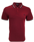 Fred Perry Polo T-Shirt - Bramble Blood Ox - Twin Tipped - M3600 - E07
