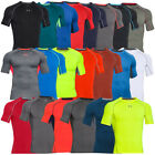 UNDER ARMOUR HEATGEAR COMPRESSION SHORT SLEEVE SHIRT KURZARM BASELAYER TEE SONIC