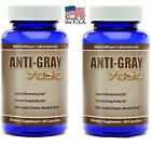 Anti Gray Hair Capsules Saw Palmetto Catalase Stop Grey Pill Restore Natural