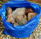 BLUE RUBBLE BAGS/SACKS DIY BUILDERS  71CM X 50CM 28INC X 20INCH APPROX