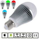 2.4G 9W Wireless Milight Dimmable RGBW(Warm White) E27 LED Light Smart Bulb Lamp