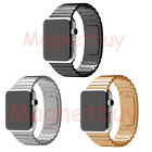 1:1 Link Bracelet Loop Stainless Steel Strap Watch bands For Apple Watch