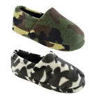 Kyпить Kids Boys Camouflage Slipper Camo Full Back Slippers  Green Black Size 9-3 на еВаy.соm