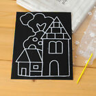 1 6 10Pcs Novelty Scratch Cardboard DIY Draw Sketch Notes Memo Pad for Kid S