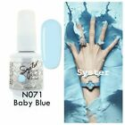 SYSTER NEW 128 Colours 15ml Nail Art Soak Off Gel Polish Manicure UV / LED Lamp