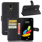Premium PU Leather Wallet Card Slots&Stand Case Cover For LG G Stylo 3 2017