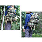 60L Tactical Military Hiking Camping Outdoor Backpack Day Packs Laptop Bag