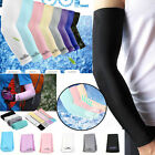 1Pair FashionUnisex Cooling Arm Sleeves Cover UV Sun Protection Basketball Sport