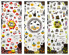 Fashion 3 in 1 Halloween Nail Art Stickers Water Transfer Decal HOT304-306