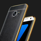 Luxury Ultra-thin Soft TPU Leather Case Cover For Samsung Galaxy S8/A520/A3200