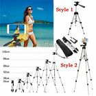Professional Camera Tripod Stand Holder Mount+Bag for Smart Phone iPhone&Samsung