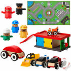 IKEA Lillabo Wooden Toy Garage / Cars / Figures / Truck and Playmat Rug Sets