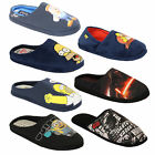 mens slippers homer simpsons minions Star Wars tetley mule sandals novelty duff $24.5 AUD