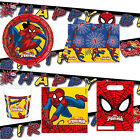 Spiderman Boys Birthday Party Superhero Plates Decorations CLEARANCE REDUCED