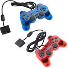 1/2pcs Twin Shock Game Controller Joypad Pad Gamepad For PS2 Playstation Console