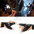 Outdoors Repair Work LED Light Electrician Flashing Gloves Auto Finger Lighting