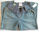 Old Navy Maternity Cropped Jeans Stretch Under Bump NEW